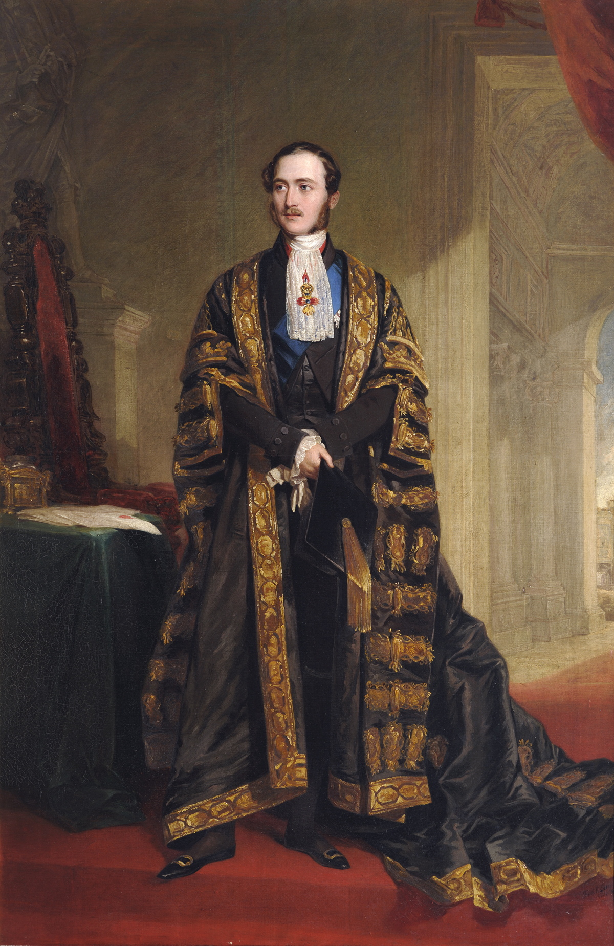 Prince Albert by Frederick Richard Say - Royal Wedding 19th May