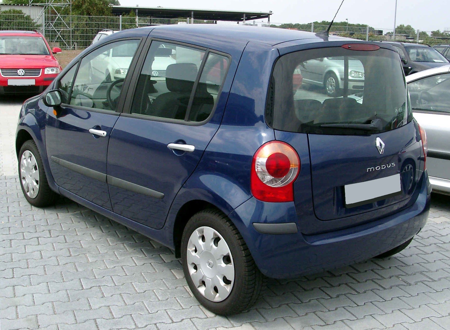 Description renault modus rear 20080811