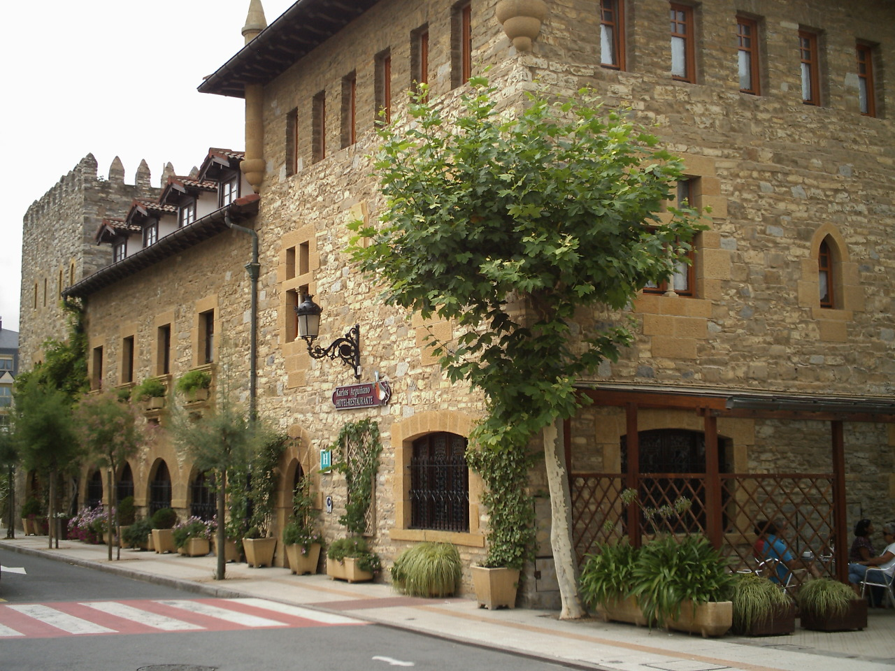 Fitxategi restaurante y hotel de carlos argui ano en for Hotels zarautz