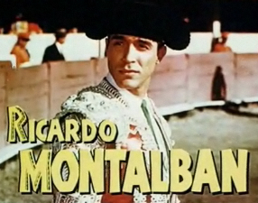 Cropped screenshot of Ricardo Montalban from t...