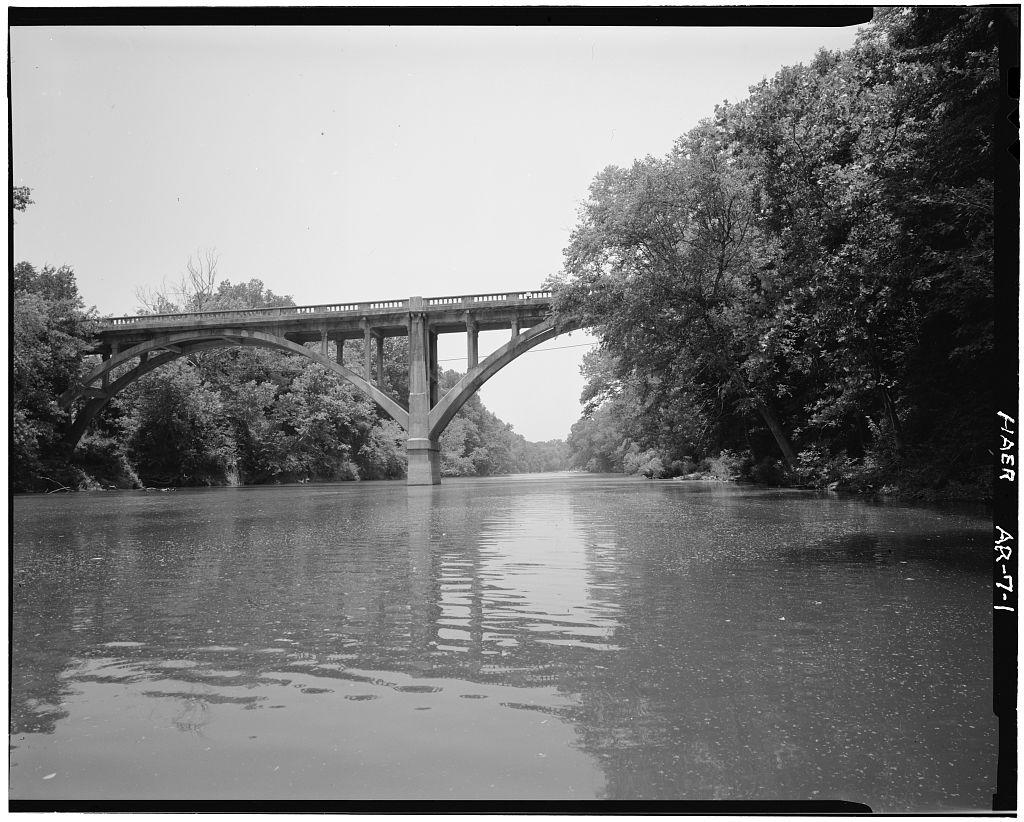 file saline river bridge  benton  arkansas jpg