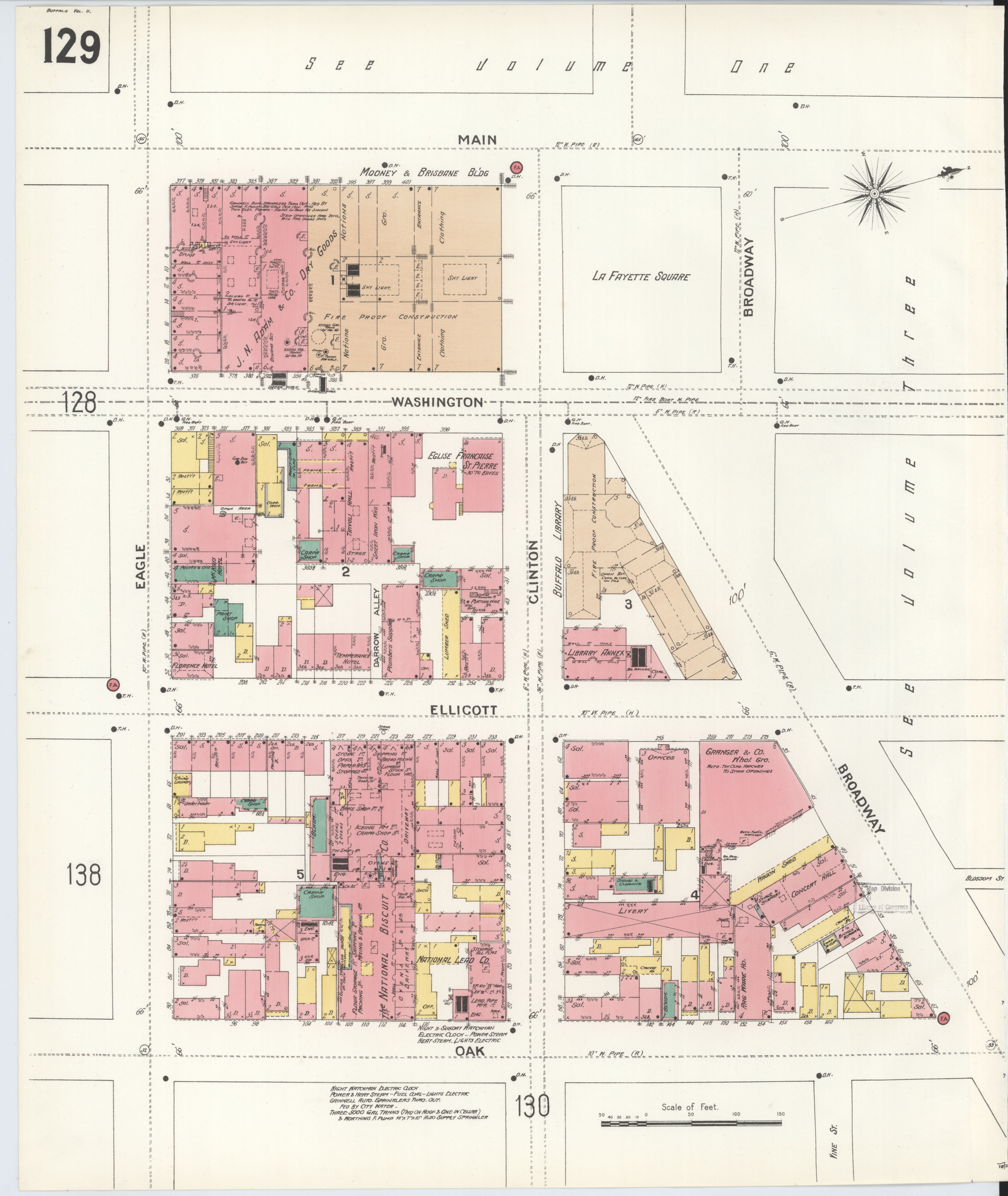 File Sanborn Fire Insurance Map from Buffalo Erie County New York