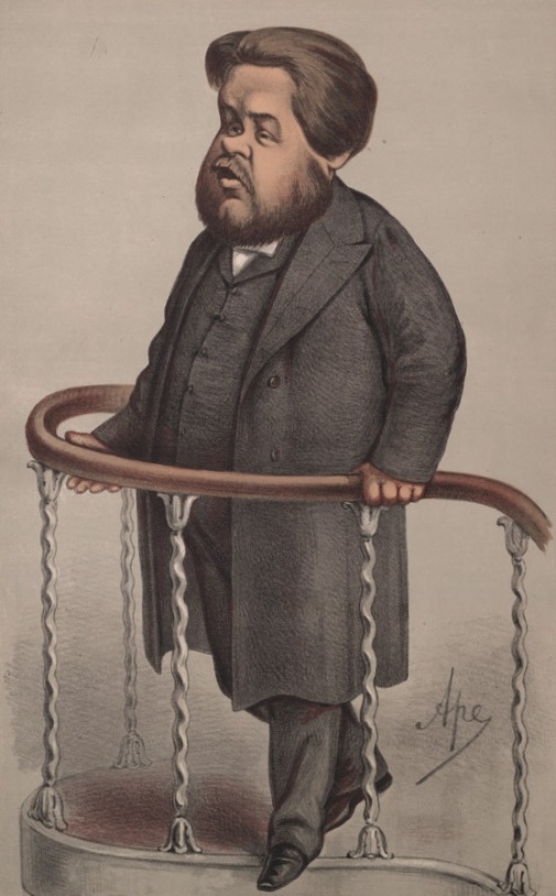 Caricature of Charles Spurgeon