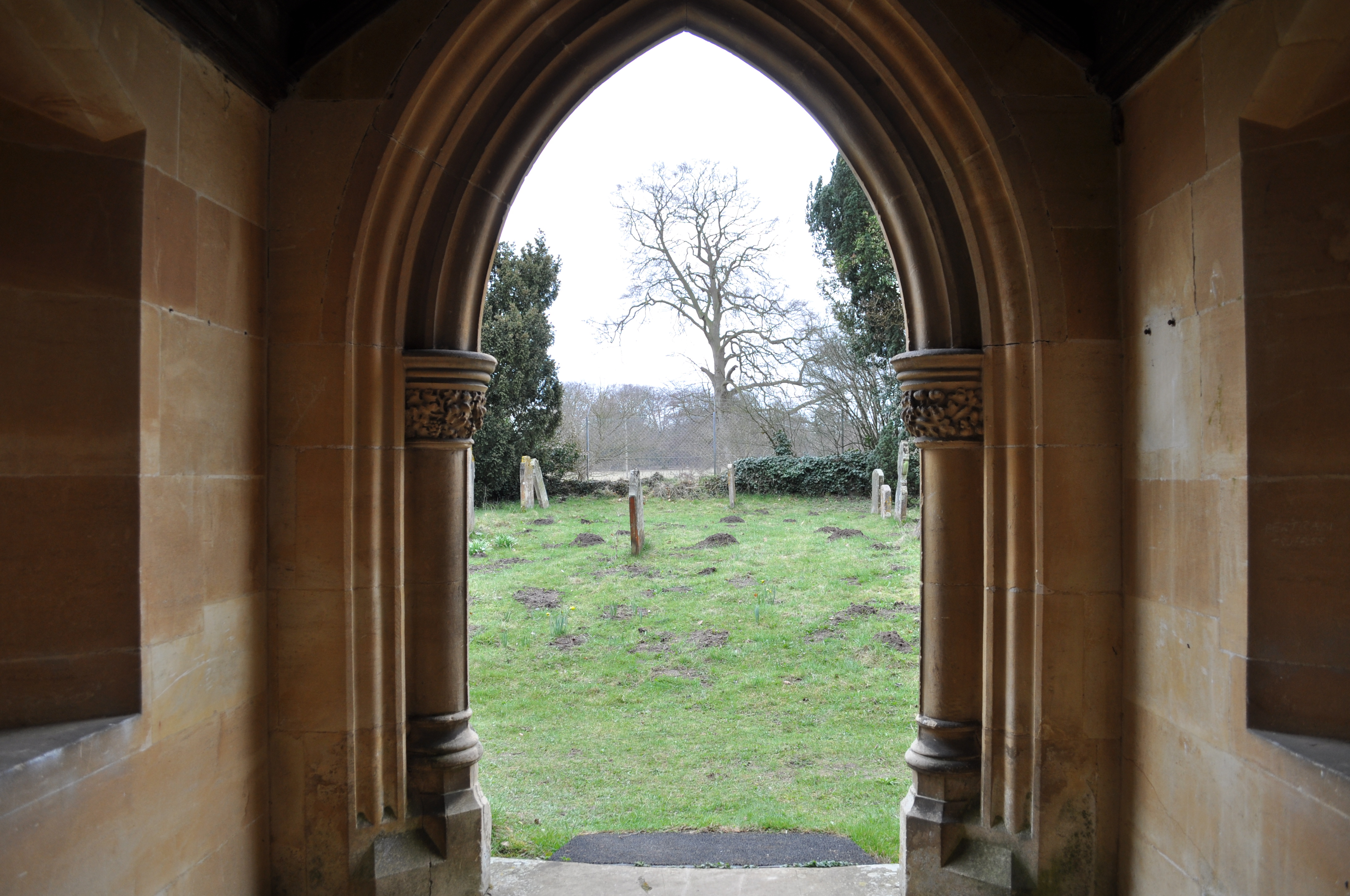 looking out door. File:St. Mary Church, West Tofts - Looking Out Of The Door O