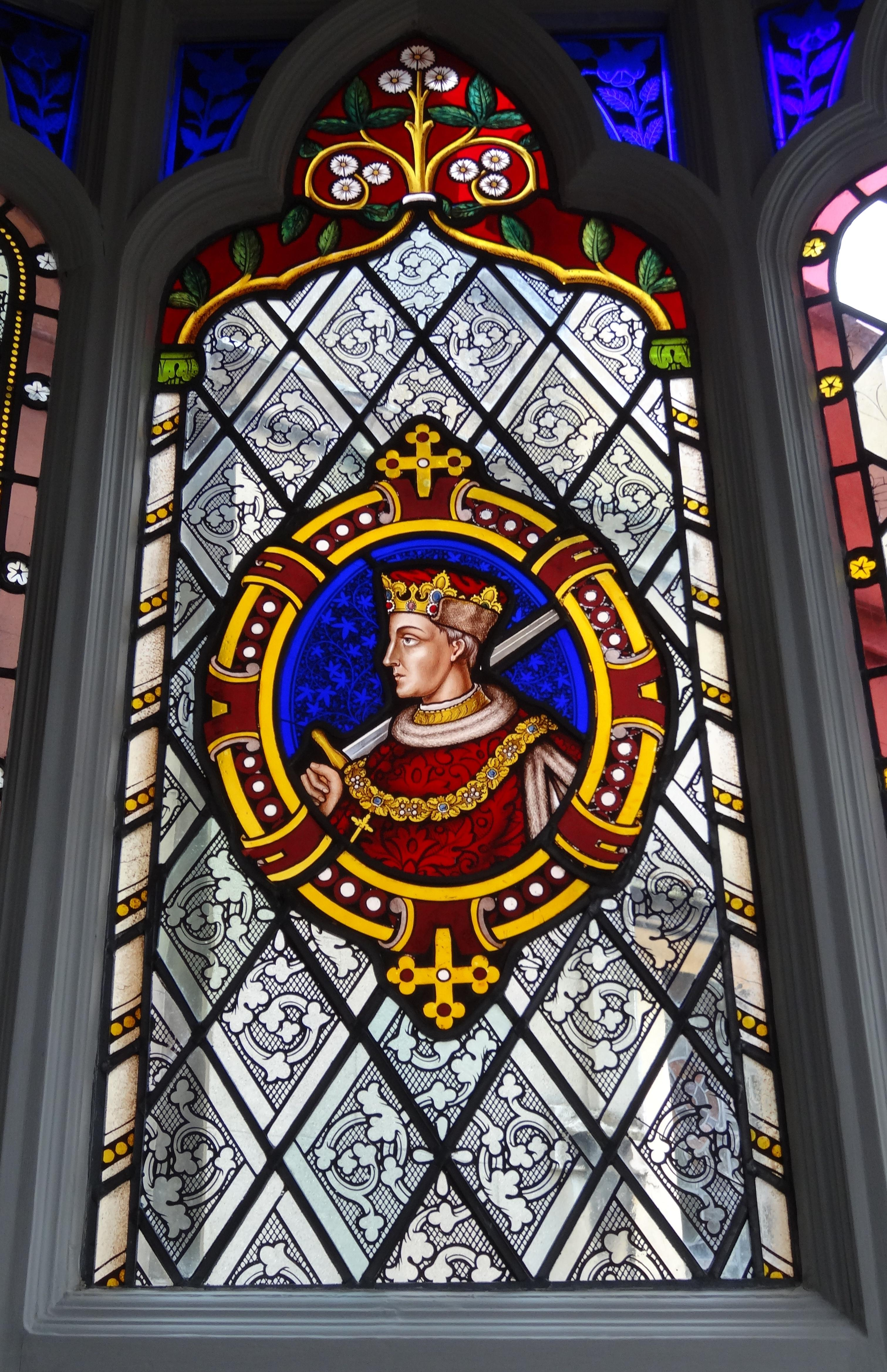 File:Stained glass windows at Strawberry Hill House 49.jpg ...