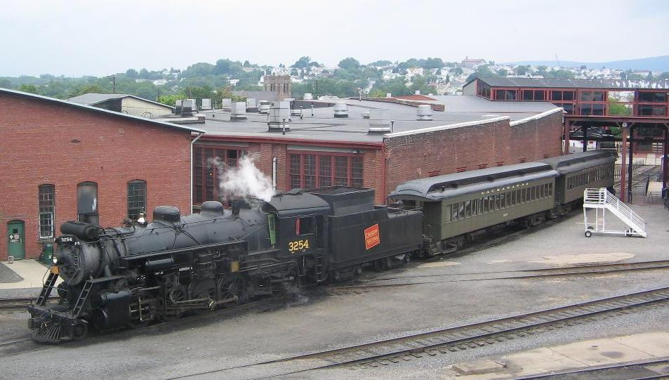 an overview of the steamtown national historic museum The steamtown national historic site in scranton has been educating visitors about pennsylvania's role in the everhart museum after you visit steamtown.