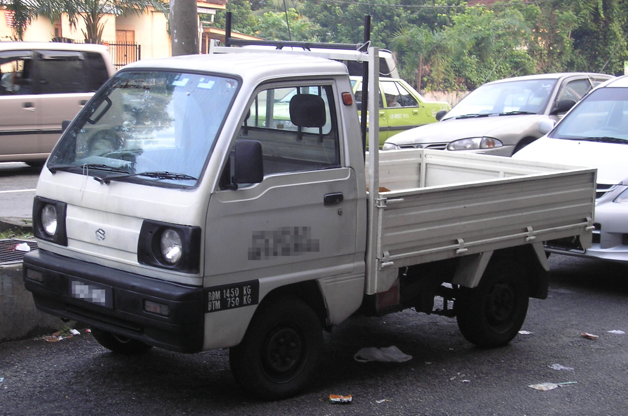 File:Suzuki Carry (fifth Generation) (pickup) (front