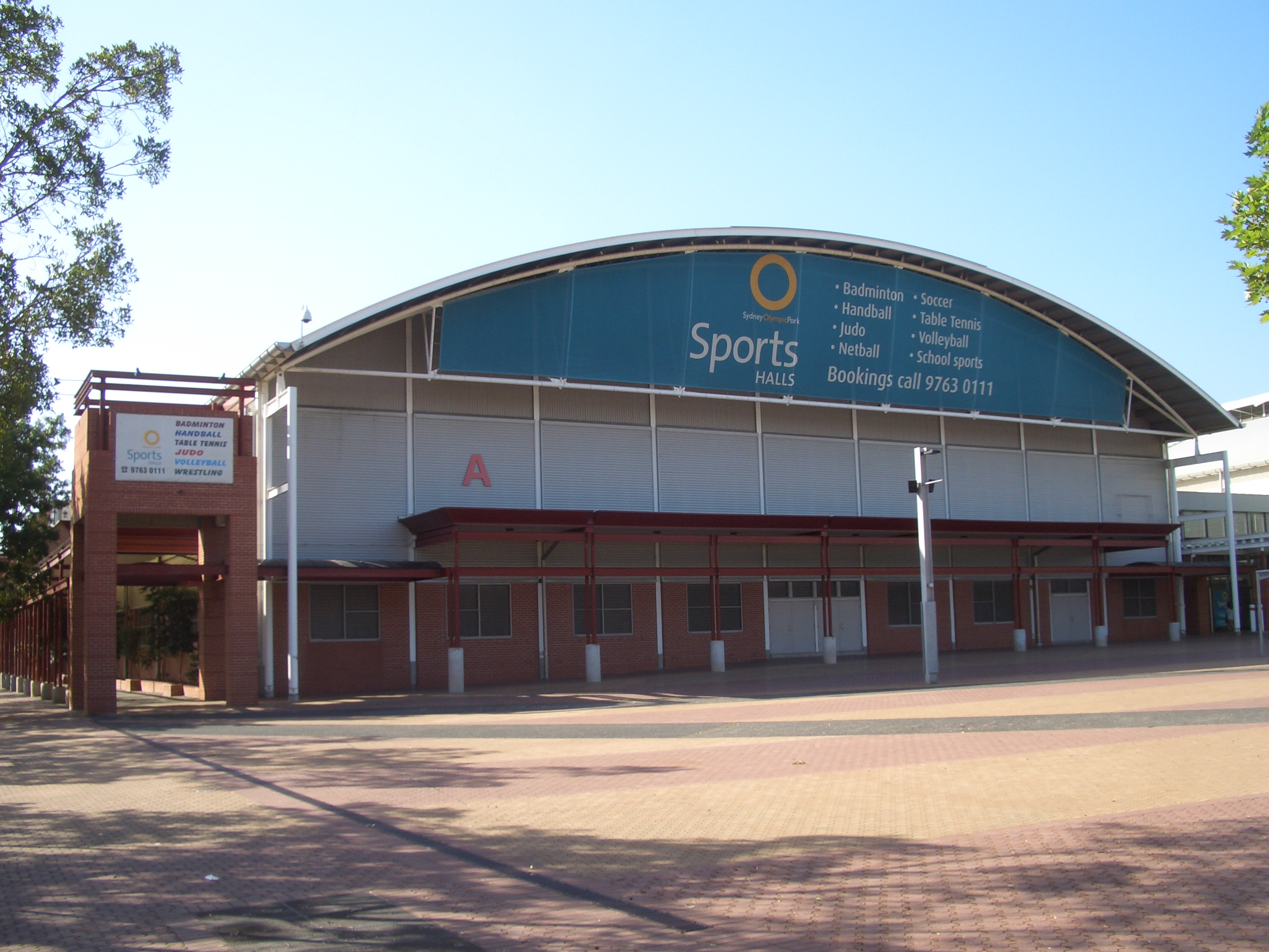 FileSydney Olympic Park Sports Halls 1JPG