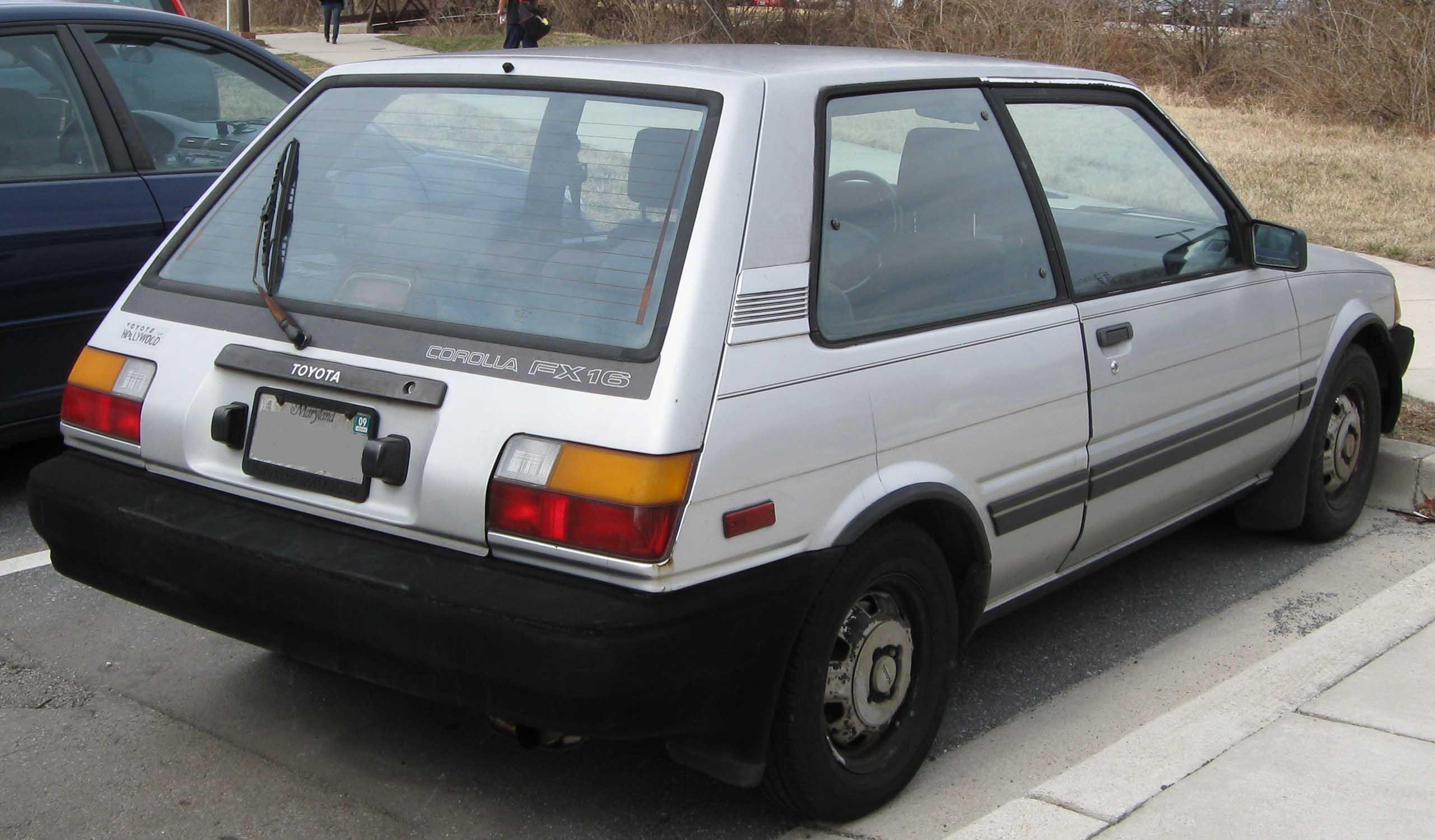 Corolla Fx16 For Sale Autos Post