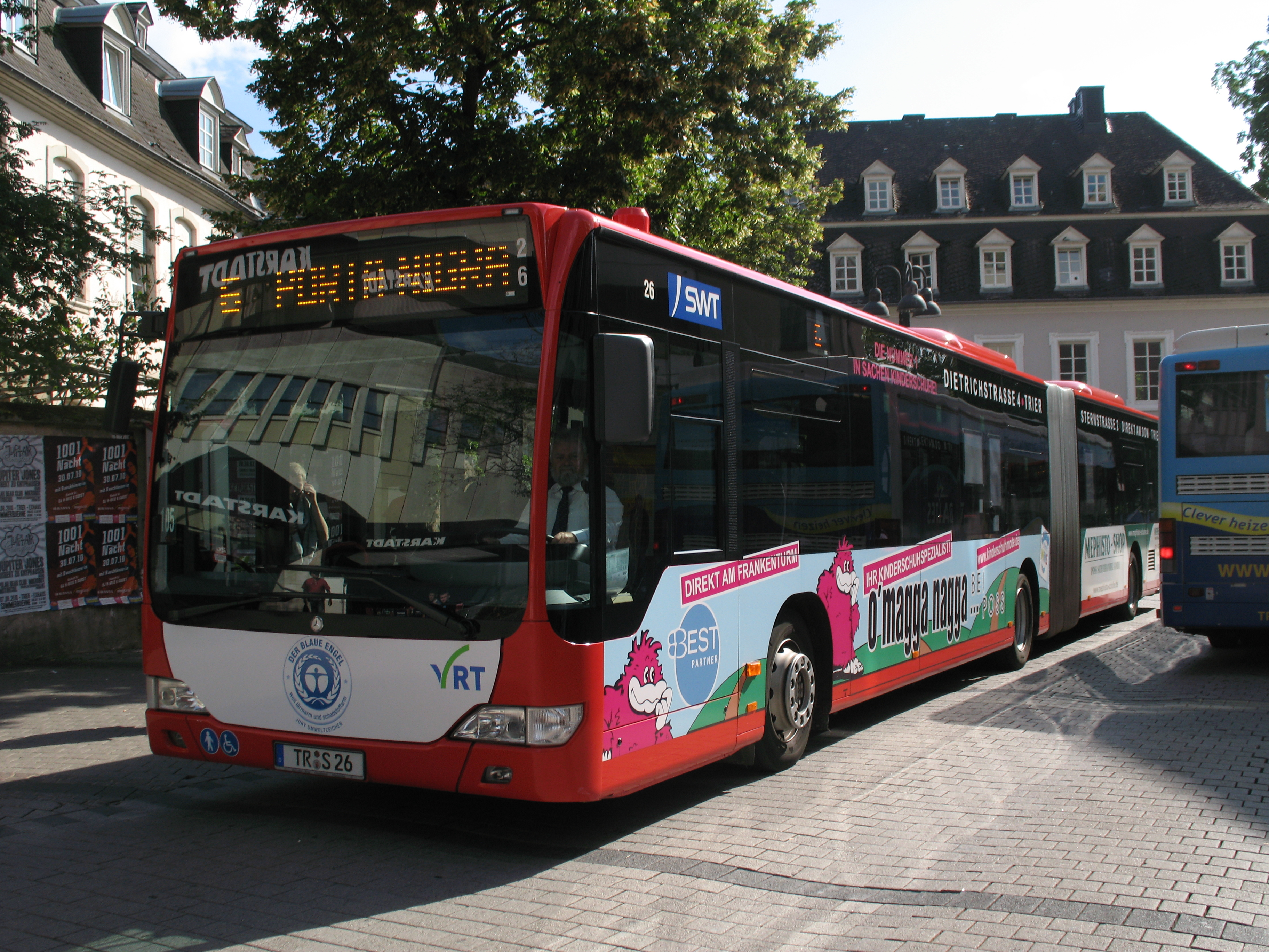 Trier Şehir İçi Ulaşım