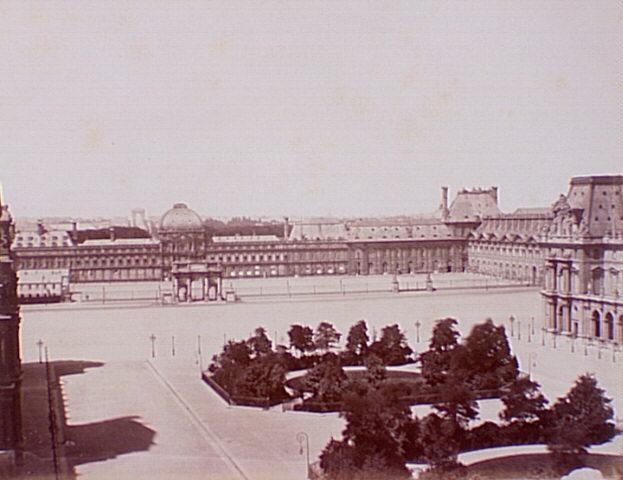 Paris - Cartes postales anciennes dans Photographies du Paris d'hier et d'aujourd'hui Tuileries3