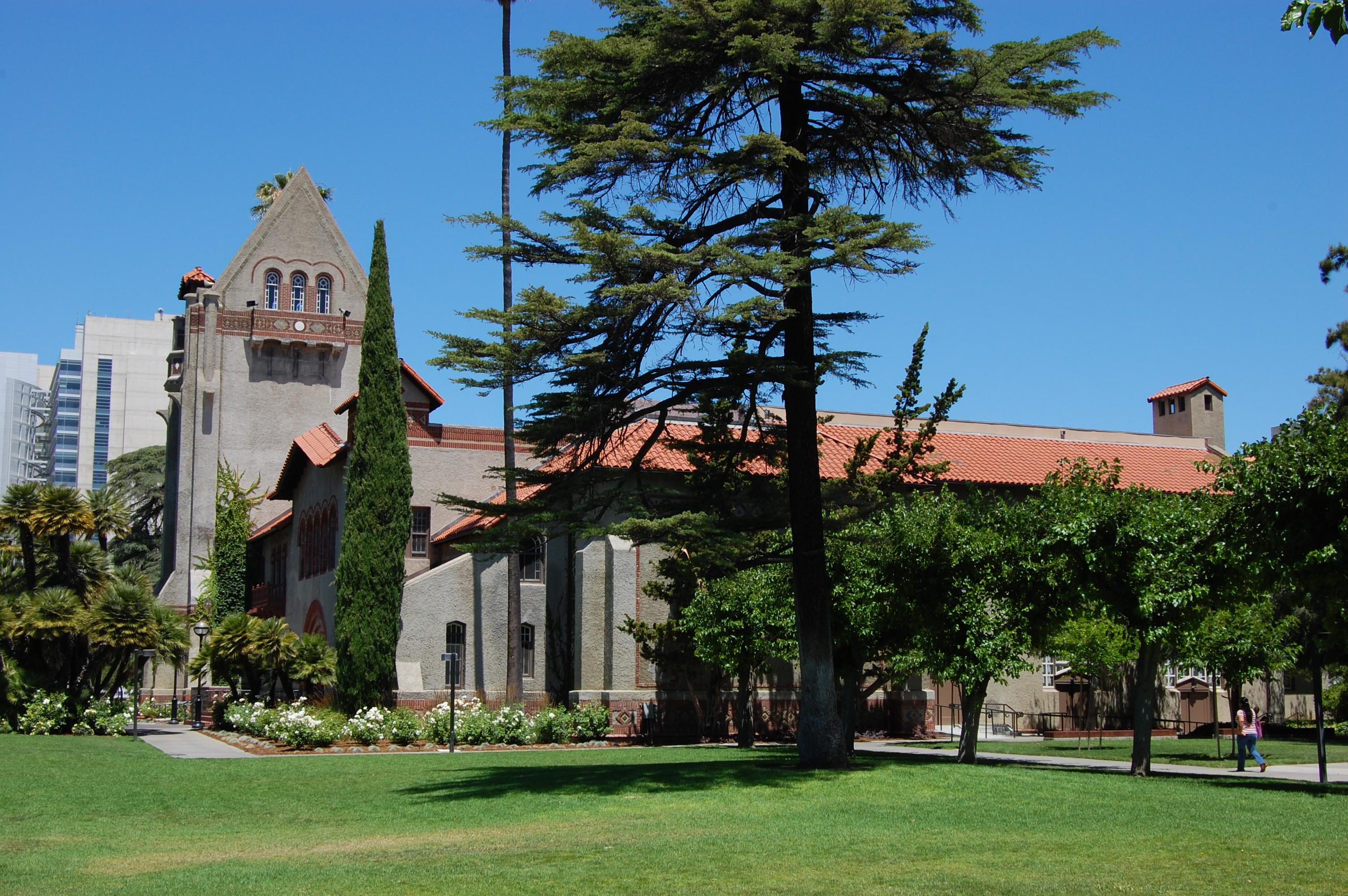 Description usa san jose state university tower hall 1