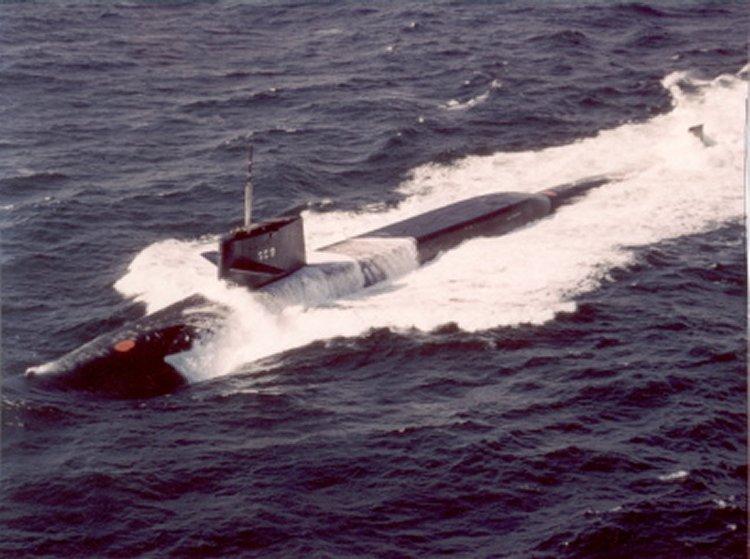 USS Will Rogers (SSBN-659), underway 15 February 1967.