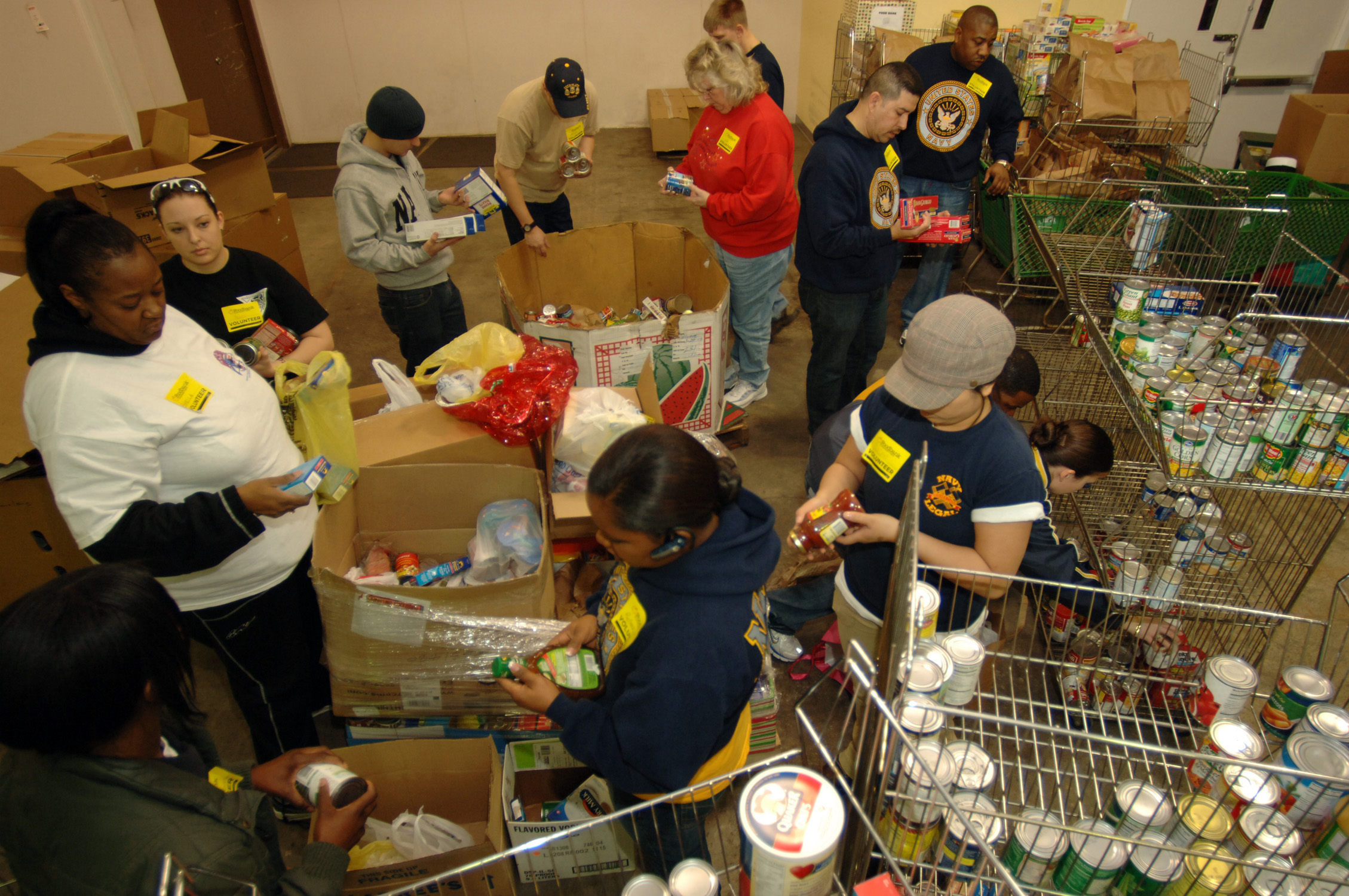 Food Bank Of Delaware Volunteer Opportunities