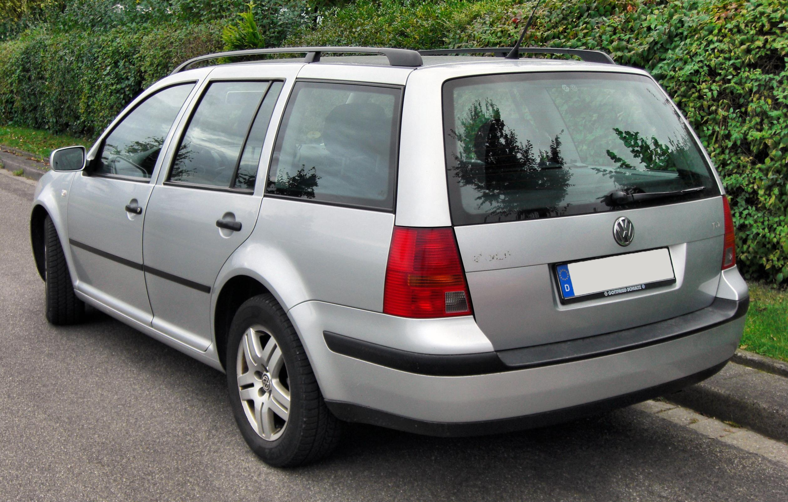 File vw golf iv variant 20090910 rear jpg wikimedia commons - Entraxe golf 4 ...