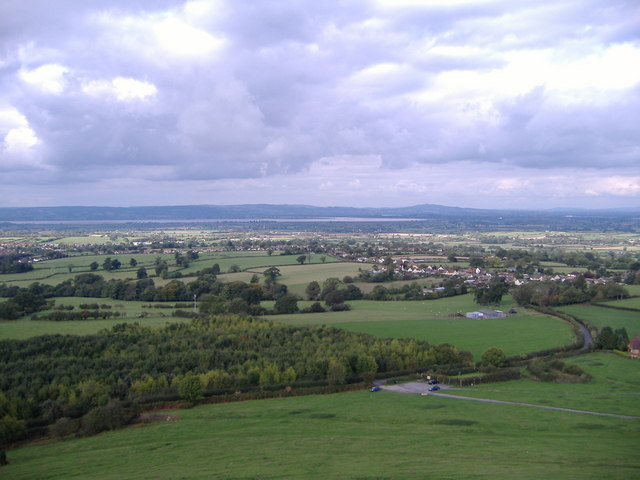View from Cam Peak towards Ashmead Green. - geograph.org.uk - 716135