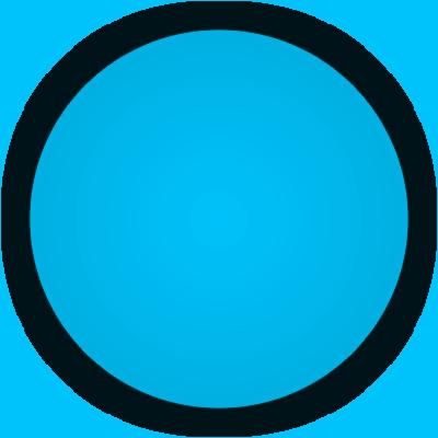 Flat Baby Blue Paint