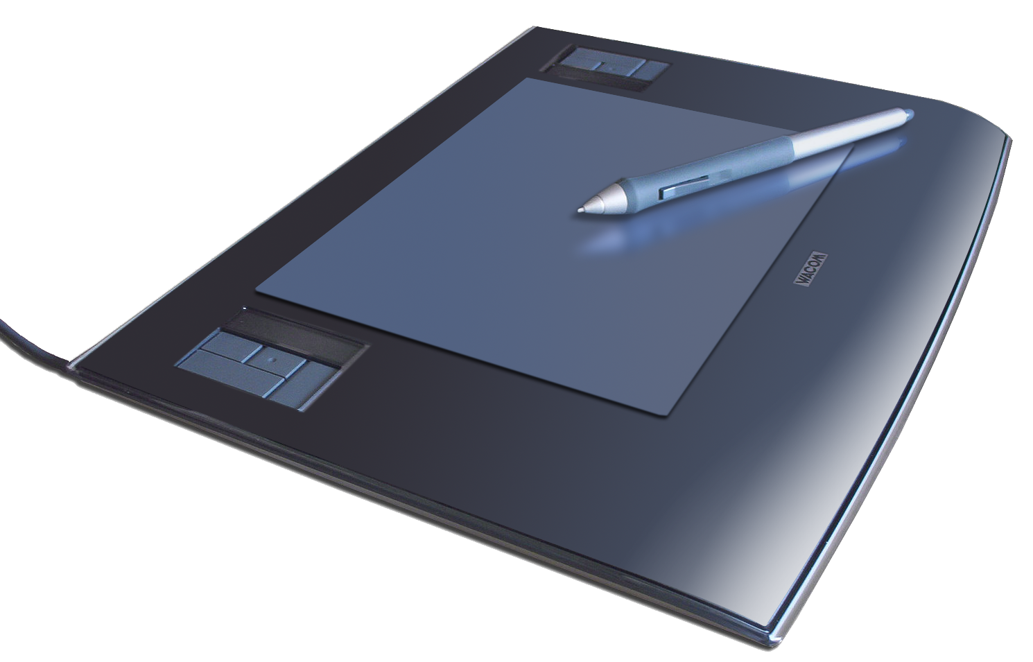 Wacom graphics tablet and pen.png