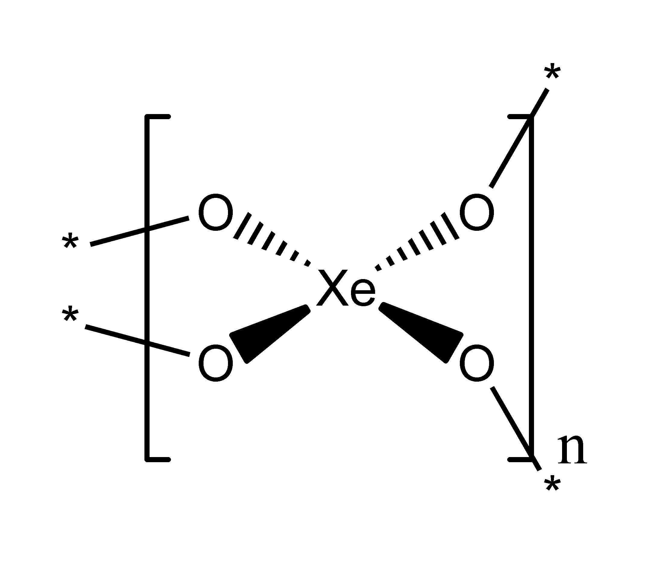 Xenon Electron Dot Structure