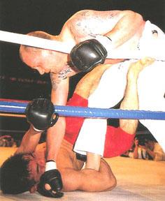 Gerard Gordeau Dutch karateka, mixed martial artist and professional wrestler