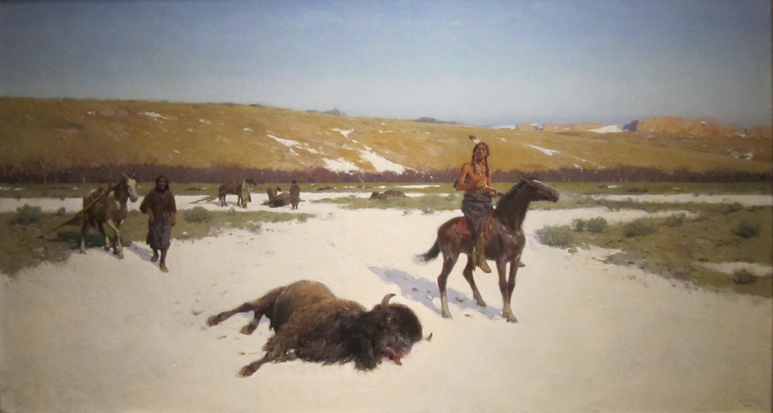 filethe last of the herd by henry farny cincinnati art