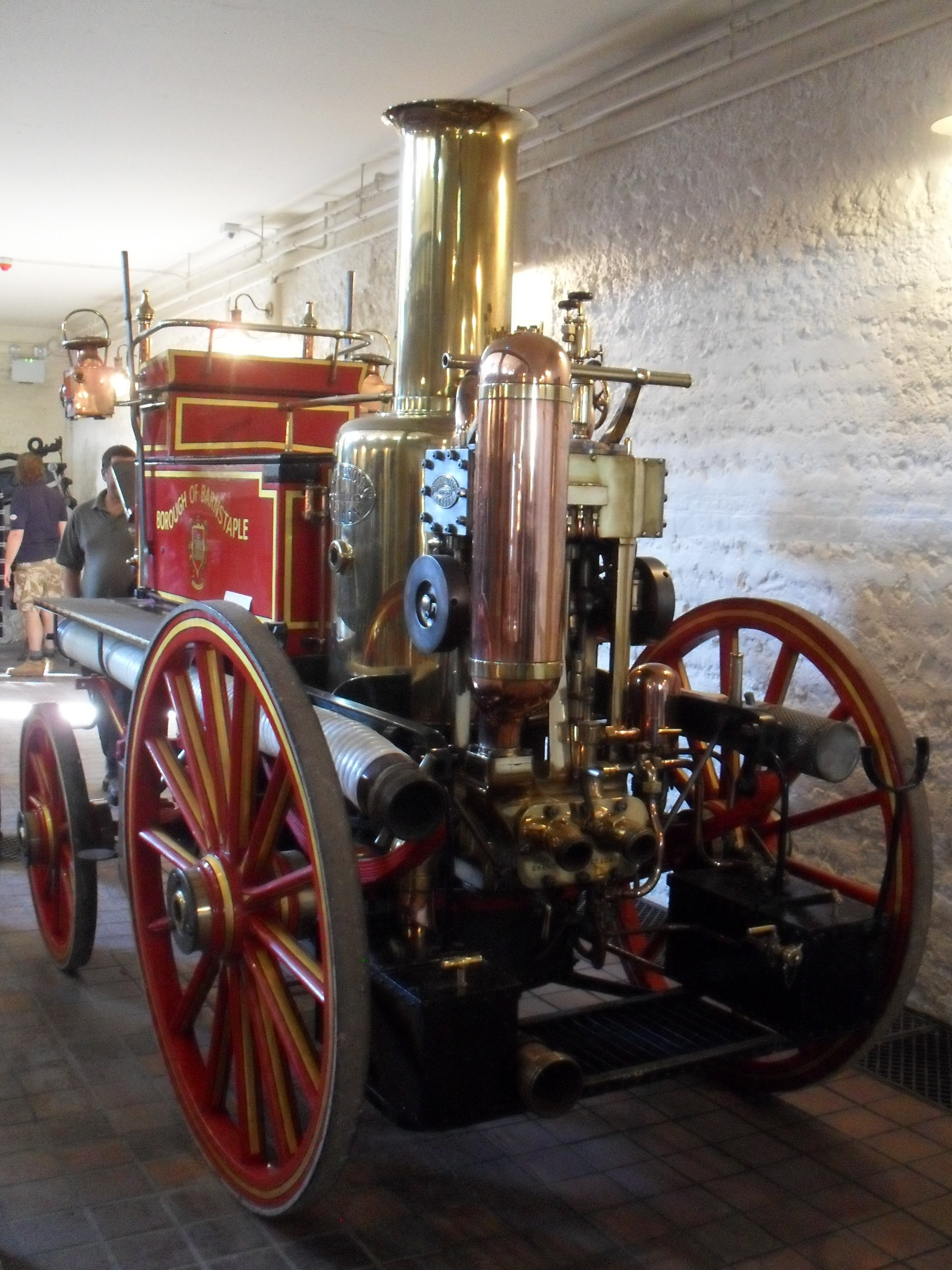 Shand Mason Fire Engine At British Engineerium C Hove