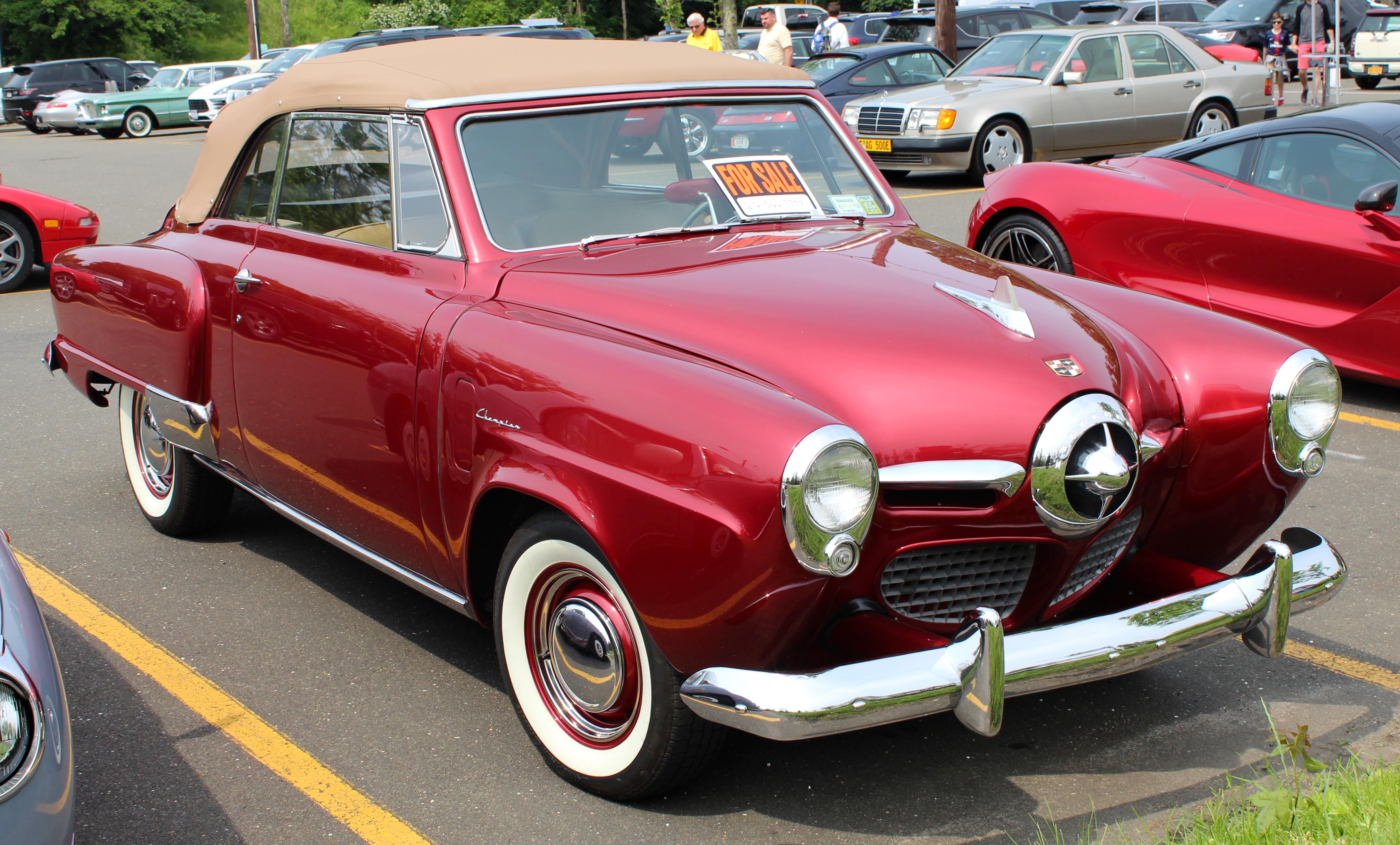 1950_Studebaker_Champion_Convertible_fro