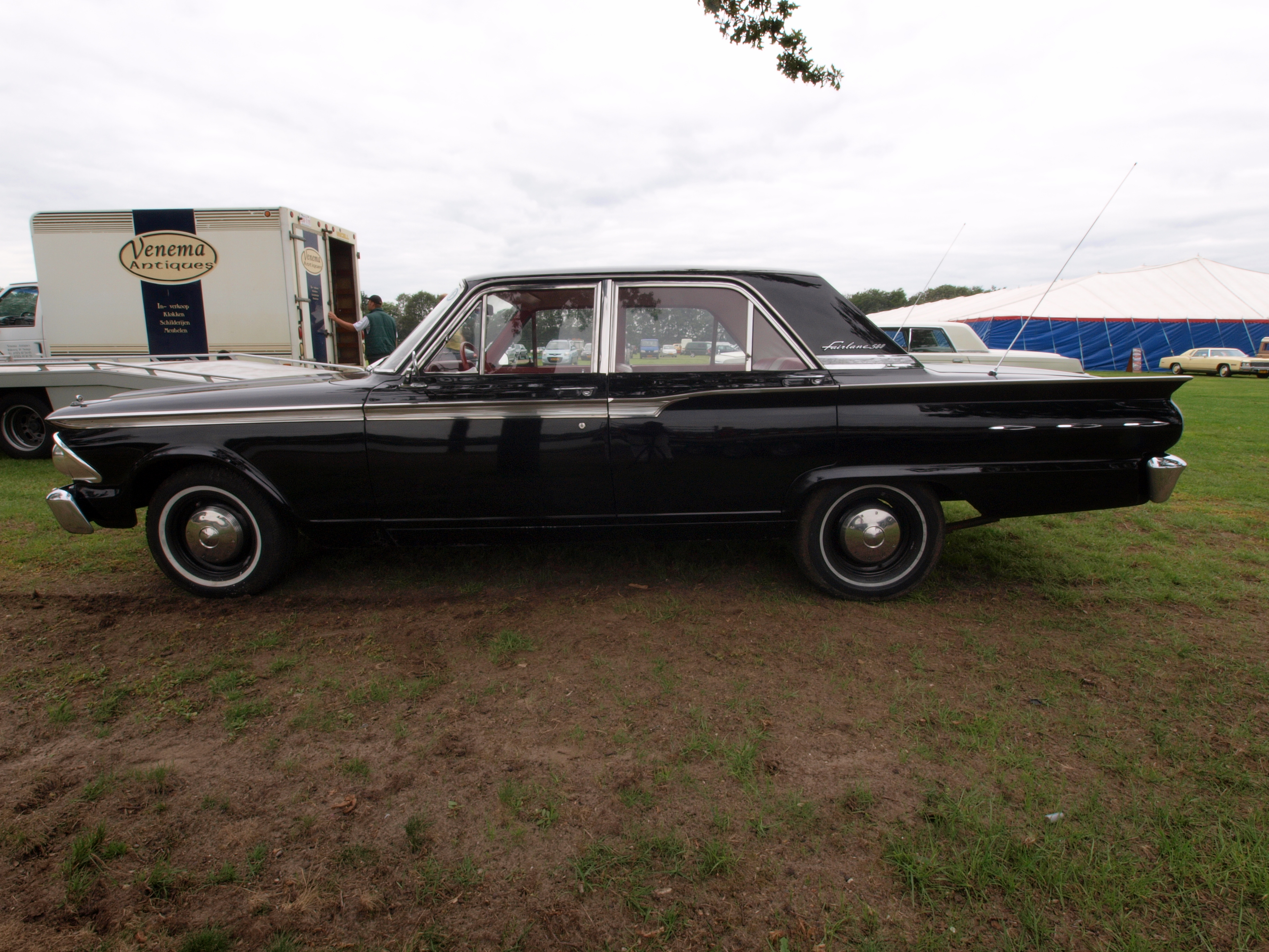 File1962 Ford Fairlane Dutch Licence Registration AE 11 32 P5