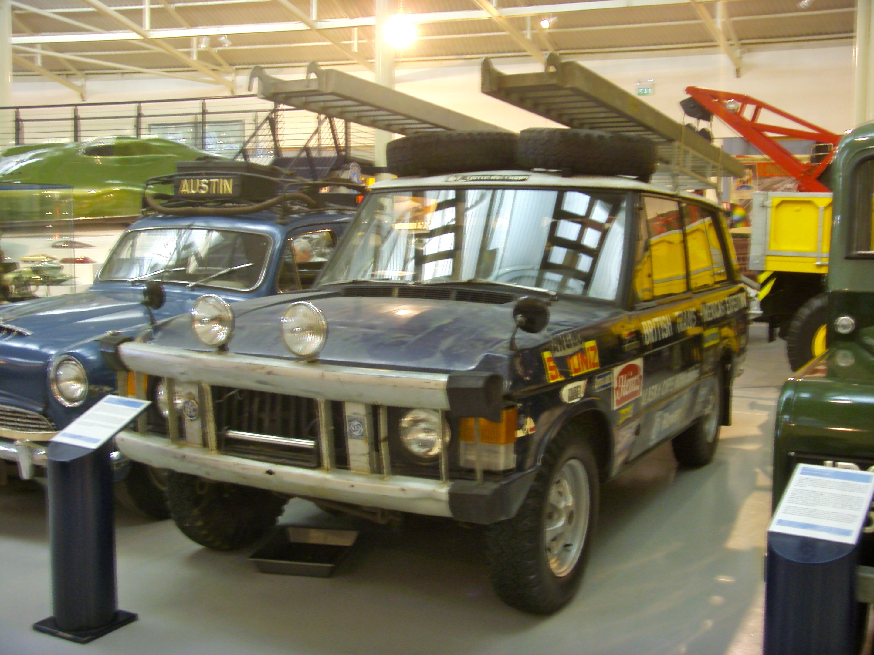 Land Rover Darien >> File 1971 Range Rover Darien Gap Expedition Vehicle