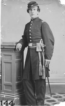 1st Lt. Stephen P. Corliss Company D 4th Heavy Artillery Civil War.jpg