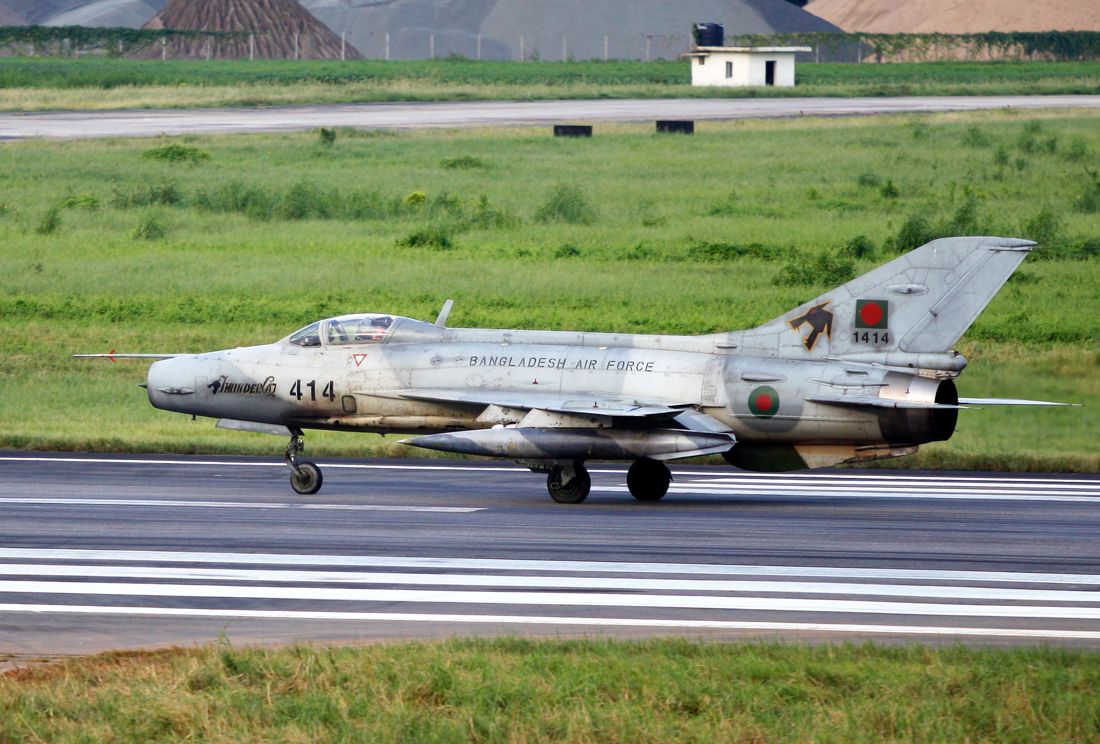 File414 Bangladesh Air Force F 7 Guard Taxiing 8157499511