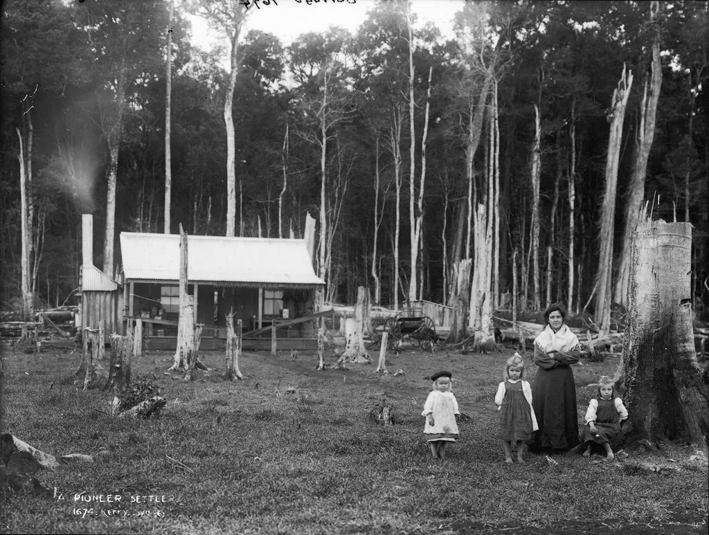 australia beginning settlers