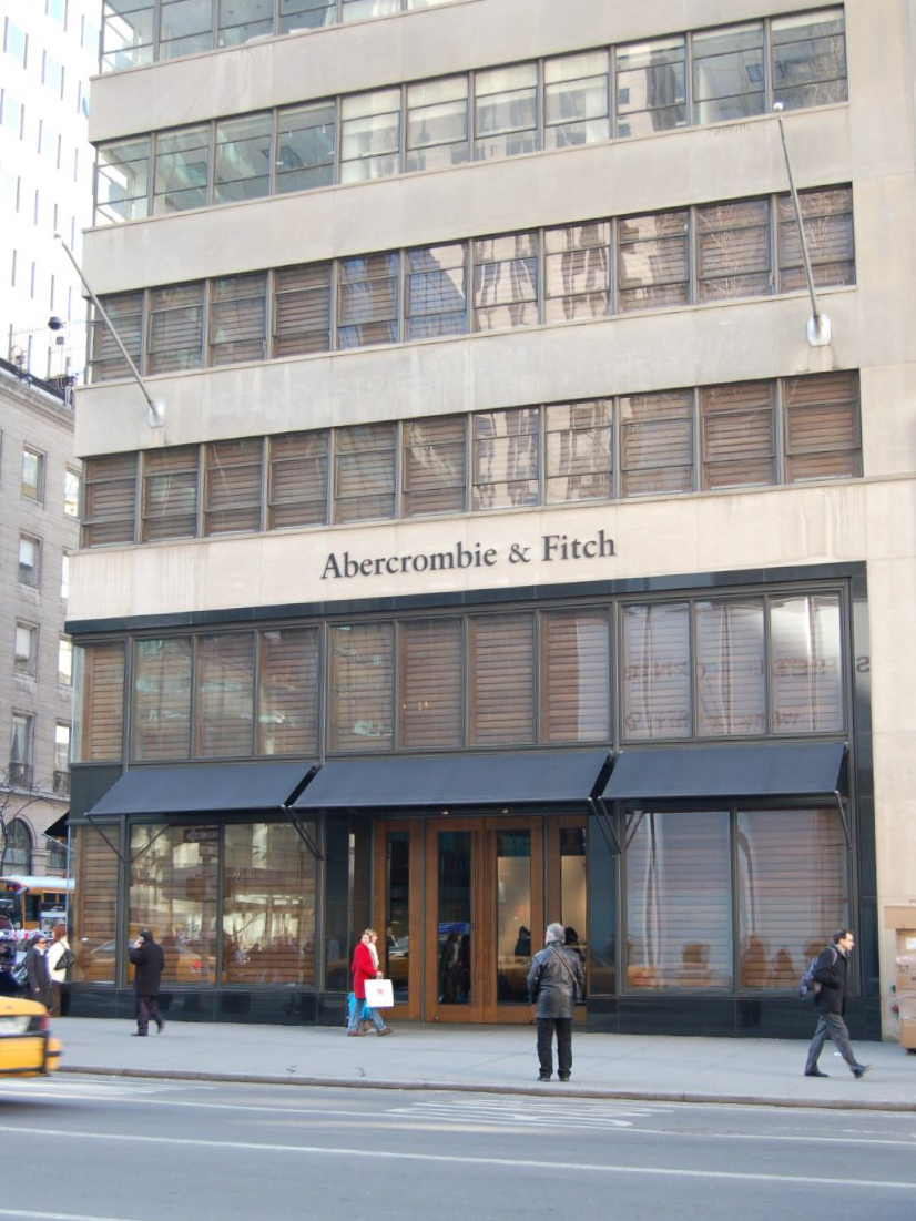 description of the organization of abercrombie and fitch Abercrombie & fitch: values, culture and business ethics in fashion  the organization's ethical responsibility is  brand abercrombie & fitch, as it is a well .