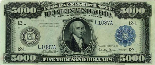 File:American 5000-dollar bill (front).jpg - Wikimedia Commons