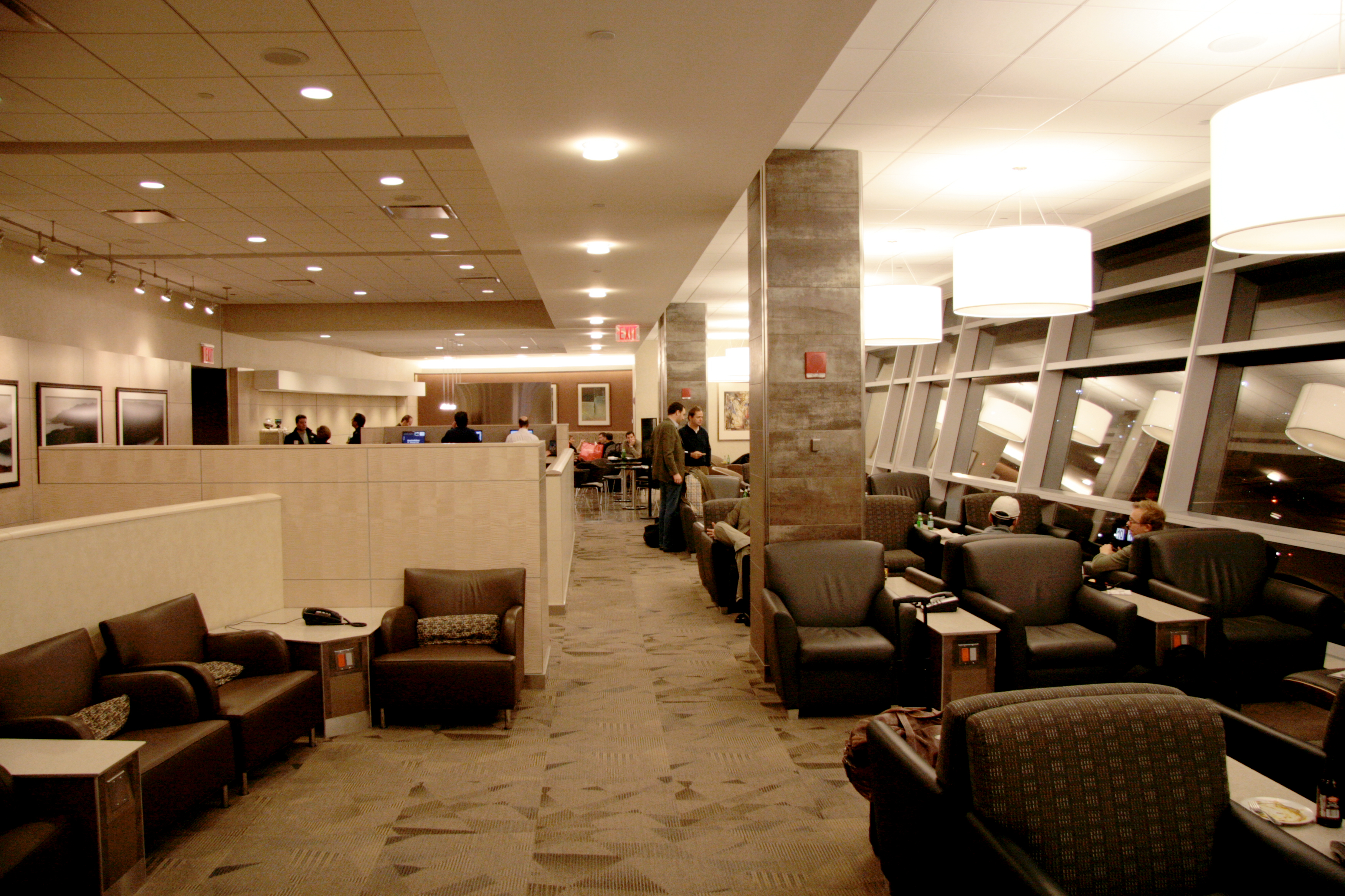 Admirals Club edit  N America Flying To Philly American Airlines And Japan