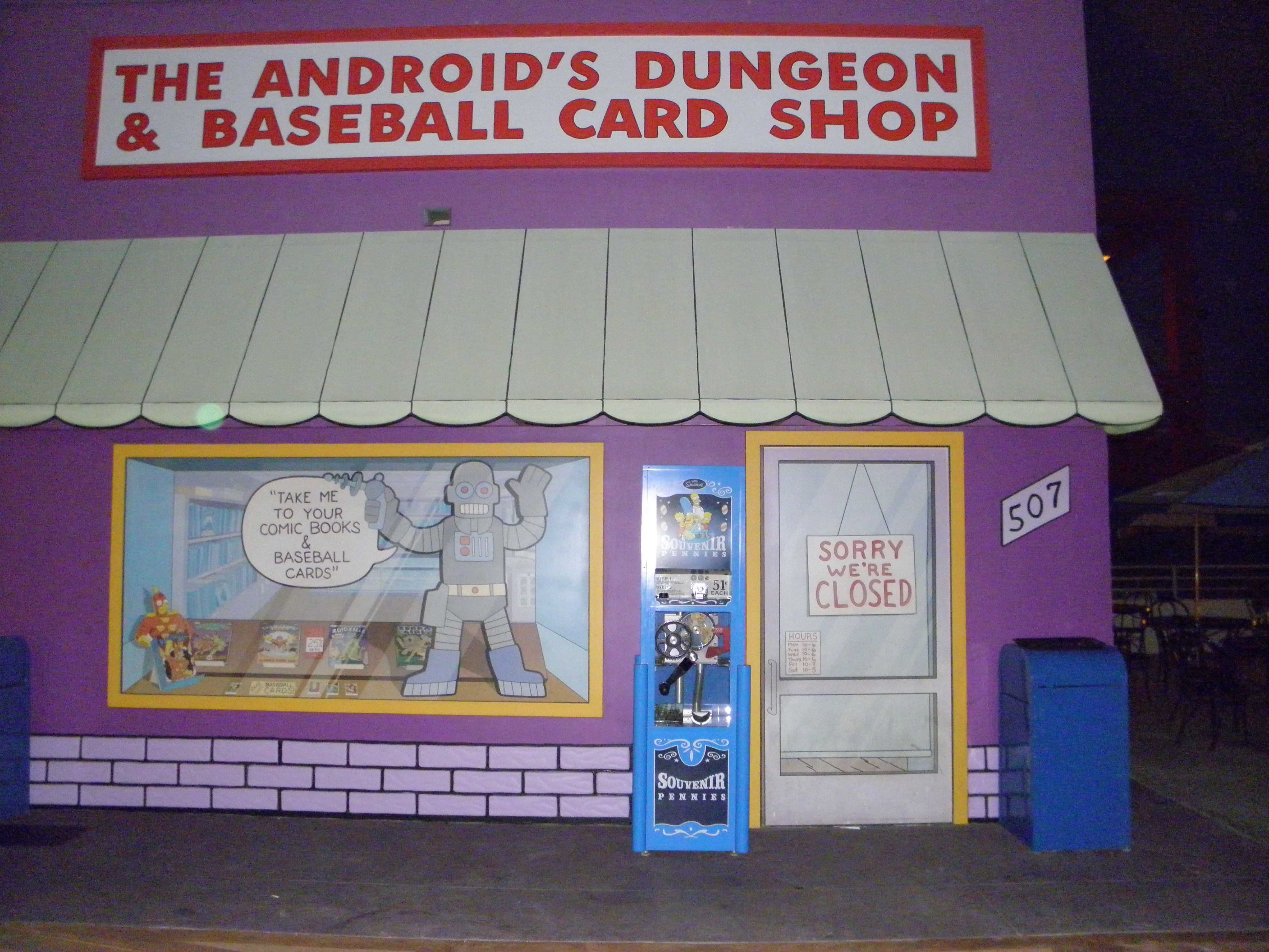File:Android's Dungeon & Baseball Card Shop (Universal Studios ...