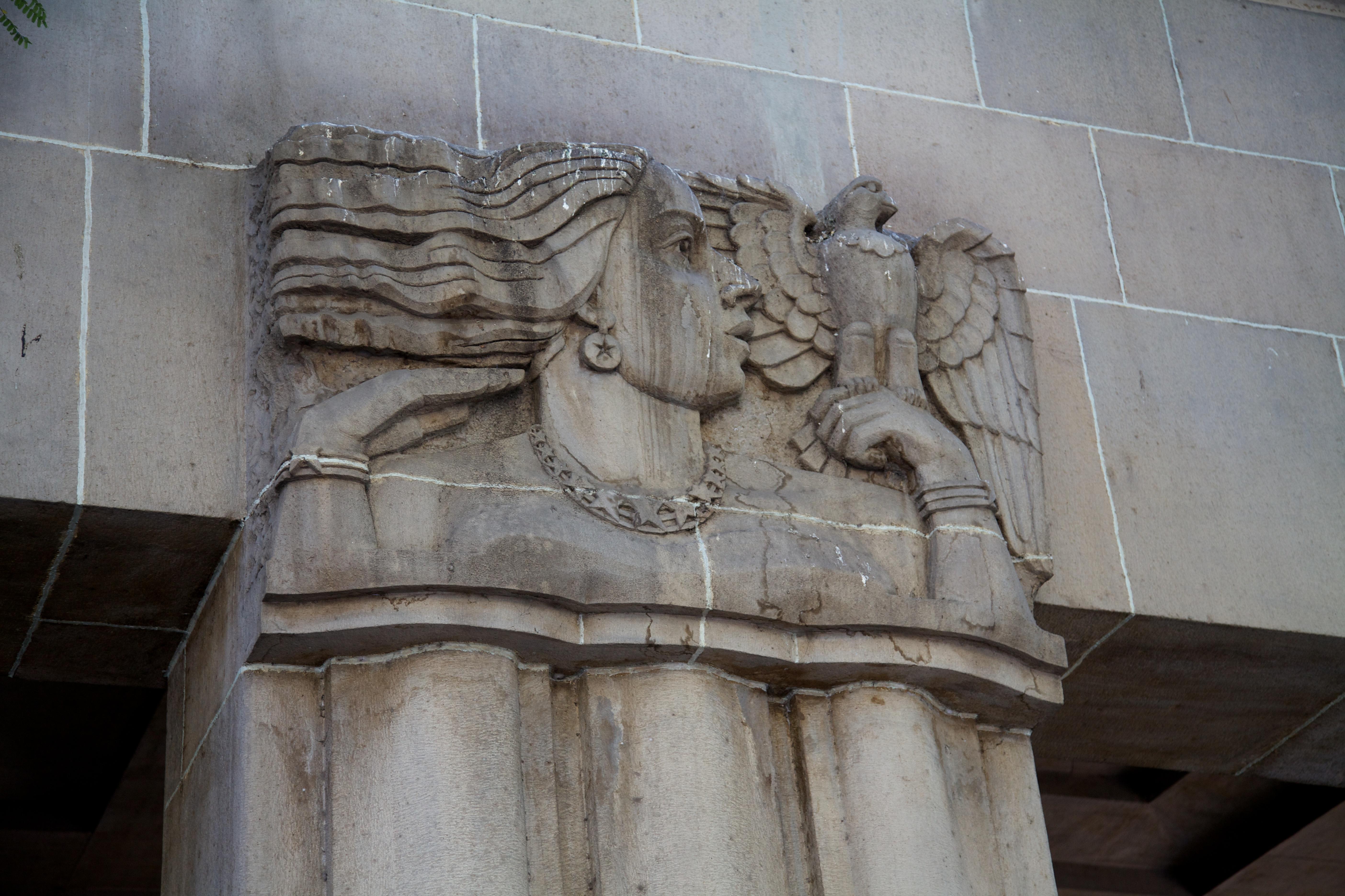 File:Art Deco Bas Relief (14414520684).jpg - Wikimedia Commons