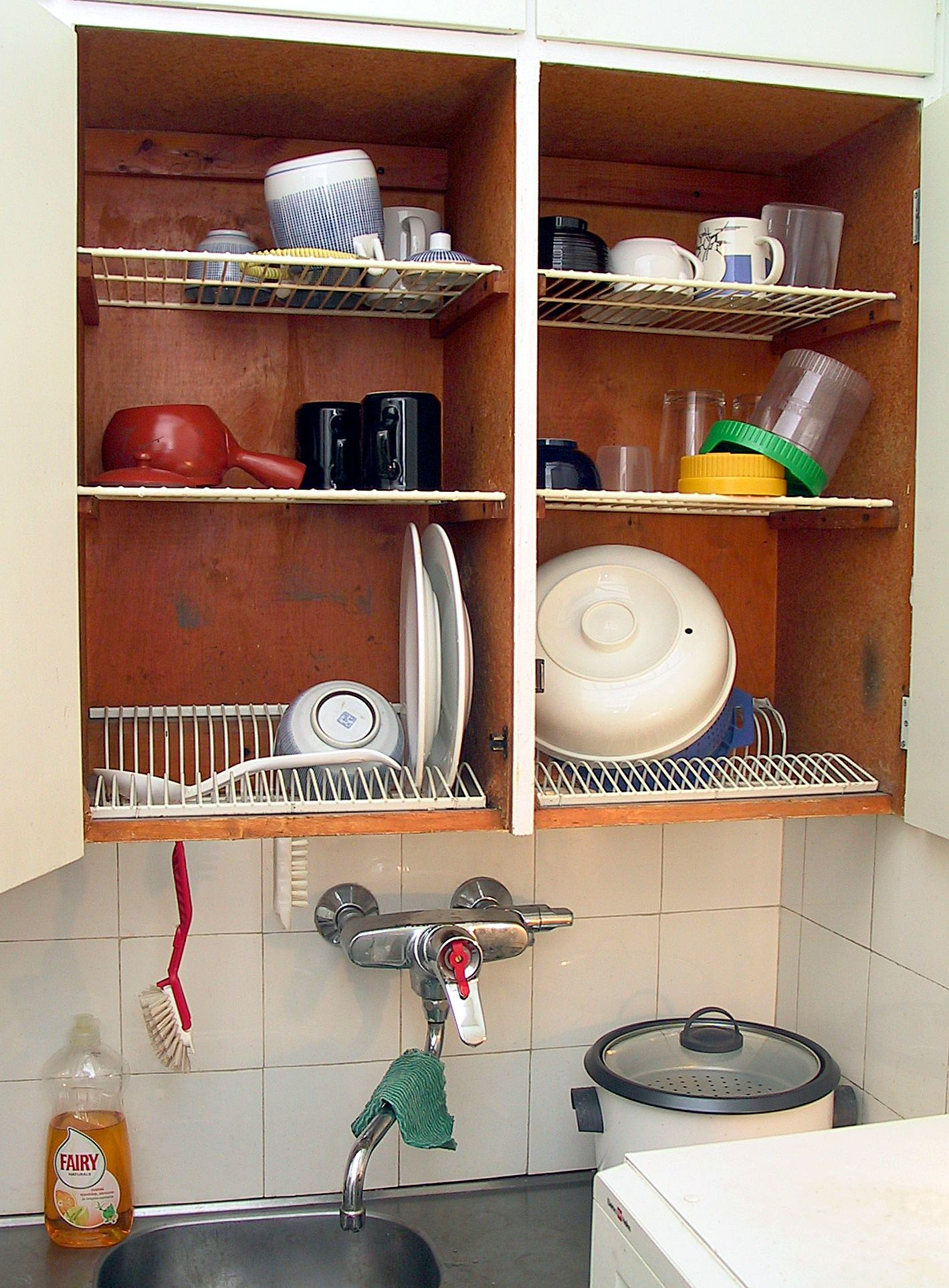 Dish Drying Cabinet