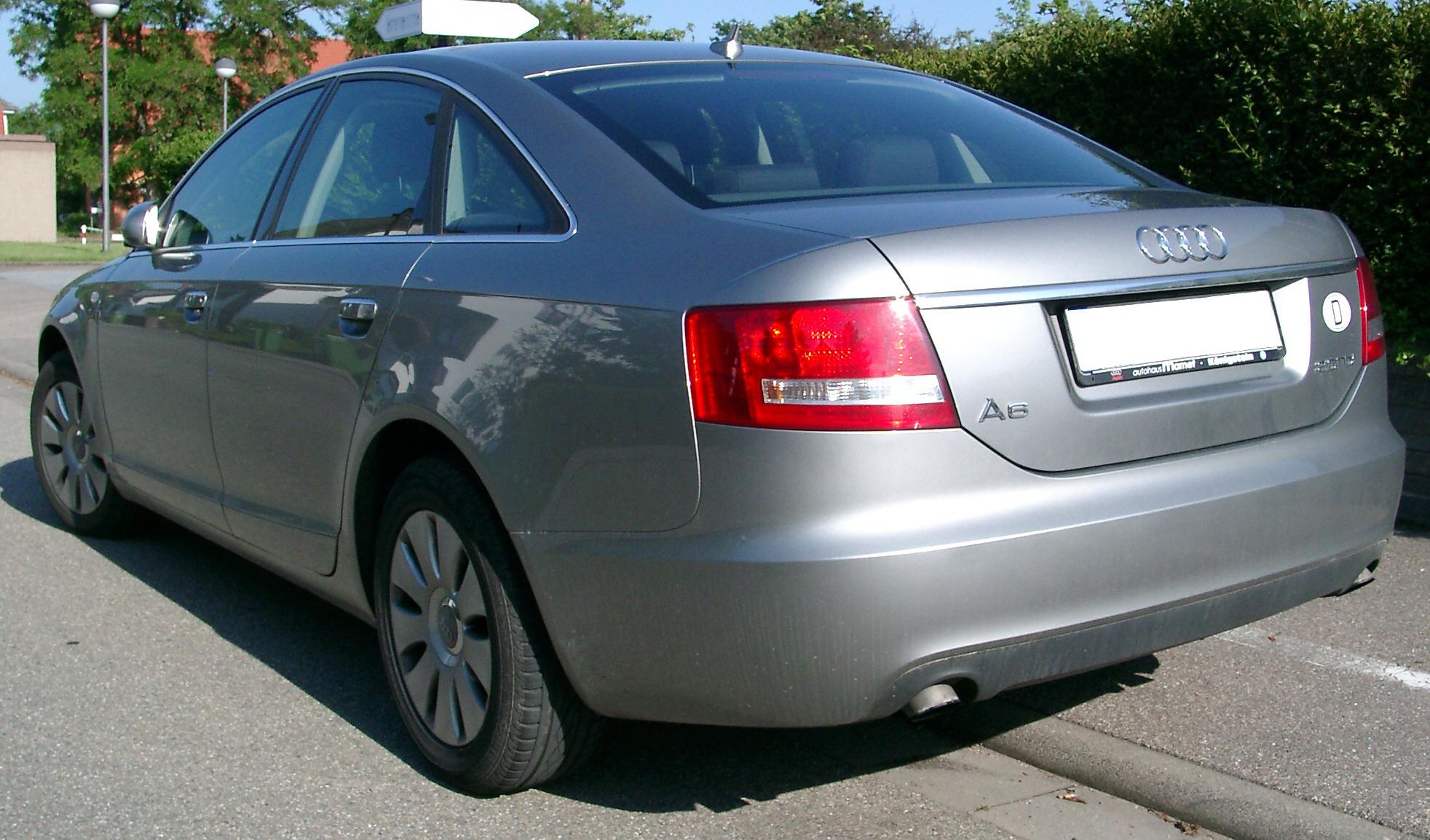File Audi A6 C6 Rear 20070518 Jpg Wikimedia Commons