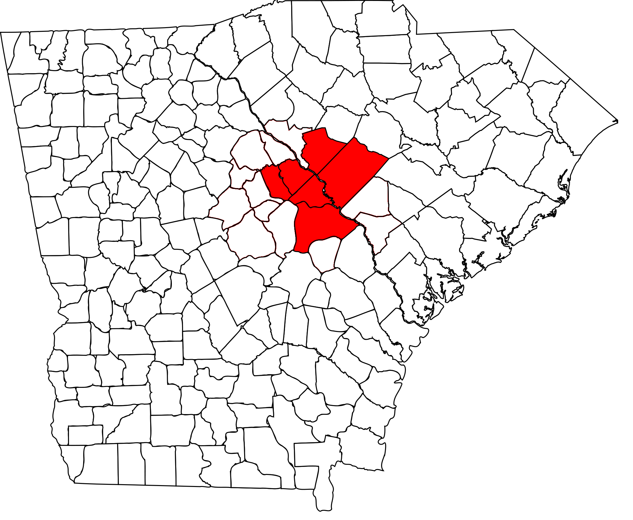 Augusta – Richmond County metropolitan area