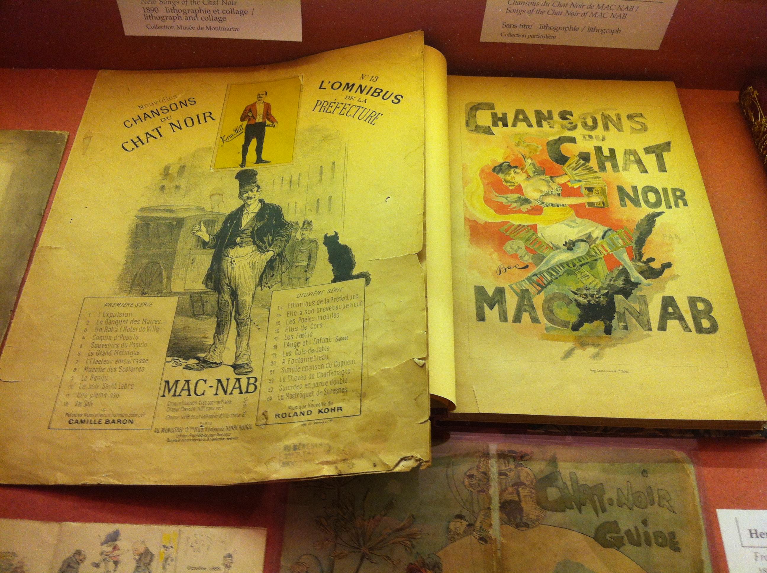 File Autour Du Chat Noir Exposition Au Musée De Montmartre 13 Jpg Wikimedia Commons