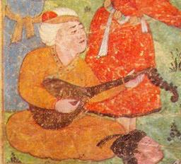 Barbad Persian musician