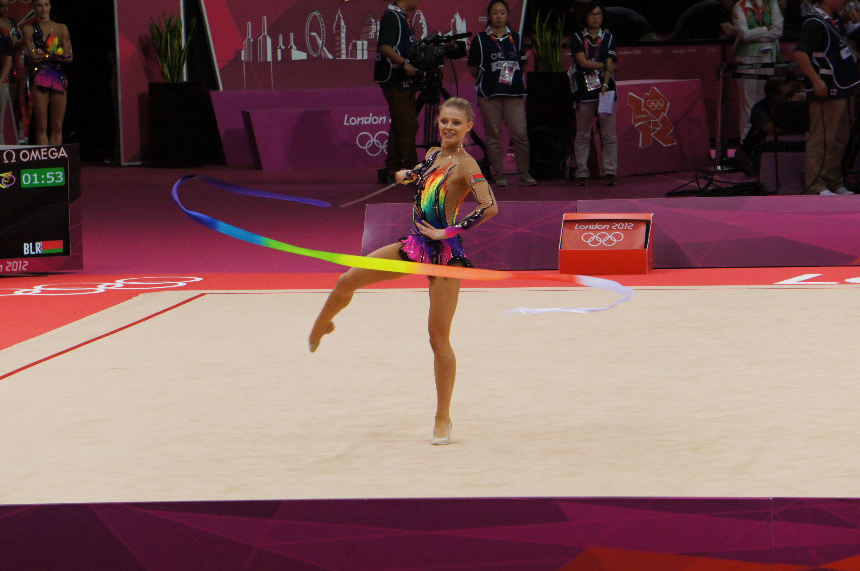 London 2012 Olympic Photo Blog: Rhythmic Gymnastics
