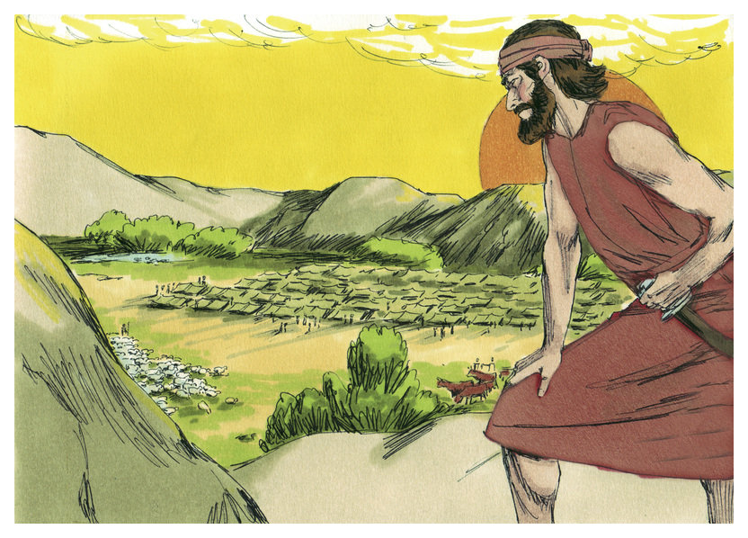 Gideon Bible Story Coloring Pages
