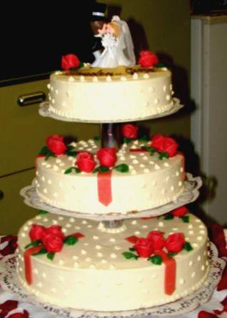 Socle Wedding Cake A La Francaise