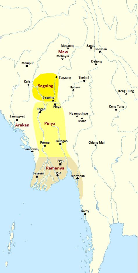Pinya Kingdom c. 1350