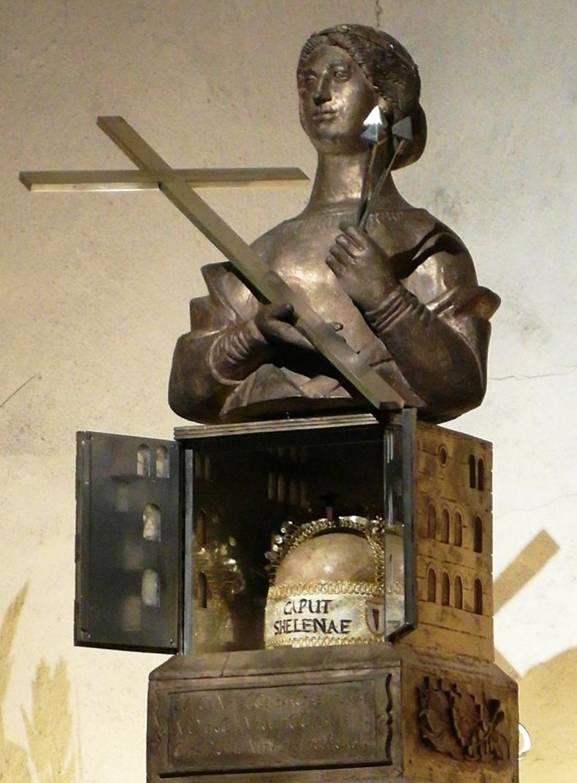 St Helena head relic