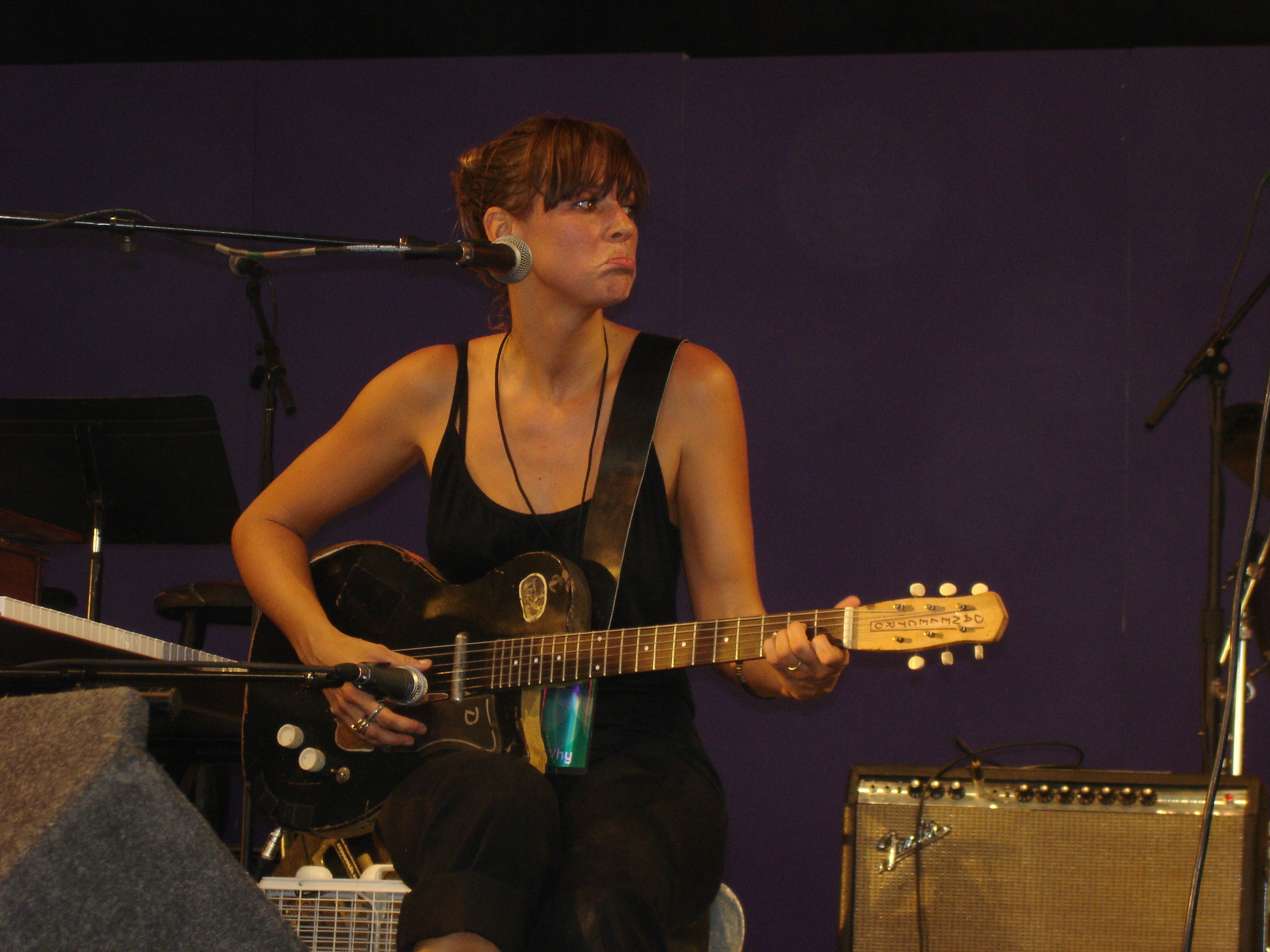 Cat Power in Bonnaroo, 16. Juni 2006
