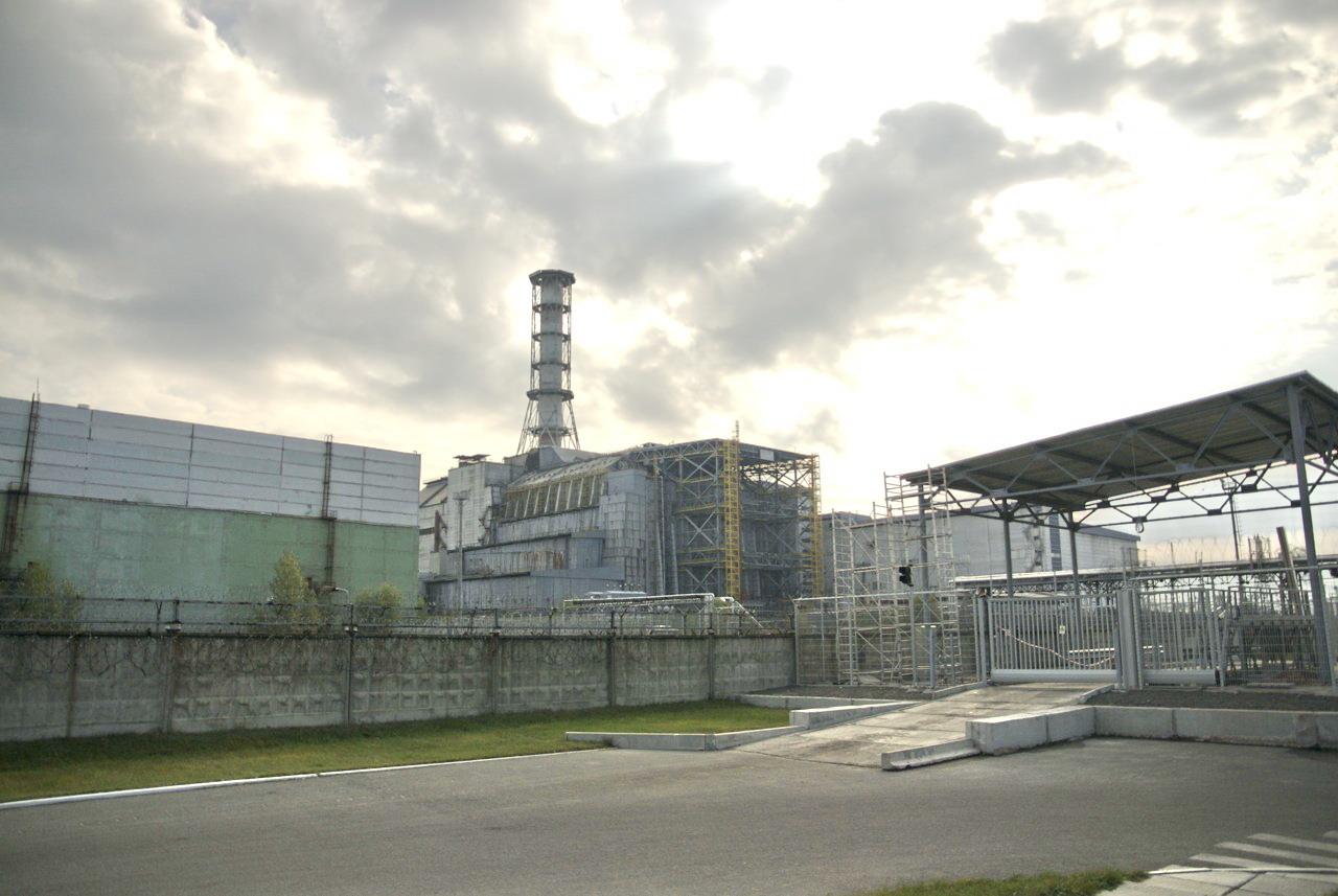 réacteur de Tchernobyl sarcophage