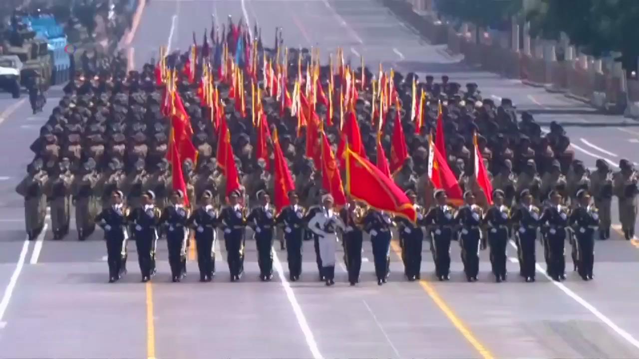 China Announces Troop Cuts at WWII Parade (screenshot) 2015917235849.JPG